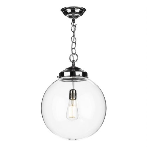 Fairfax 1 Light Pendant Chrome (Shade Sold Separately) FAI0150 (7-10 day Delivery)